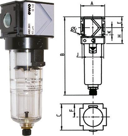 Gruppi due pezzi con svuotamento automatico della condensa  Utensileria Professionale.it