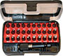 984GZA 4 - BITS IN ASSORTIMENTO - Orig. Gedore red