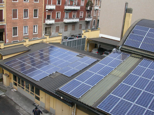 Impianto fotovoltaico Sicutool