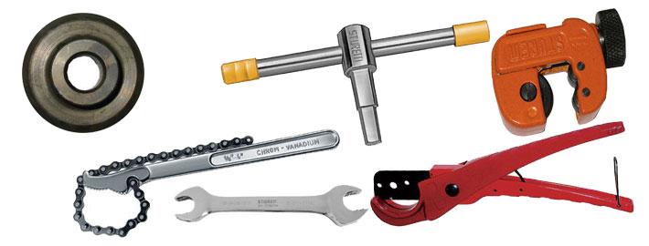 Tagliatubi e di utensili per tubi STUREM