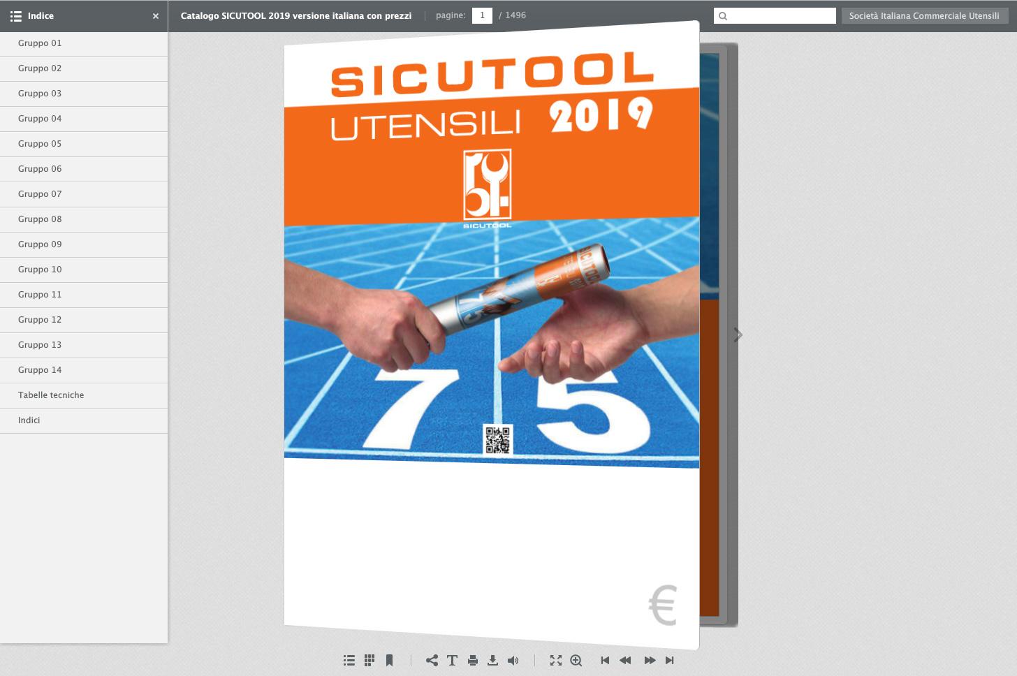 Catalogo utensili Sicutool FlipBook